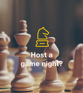 Host a game night?