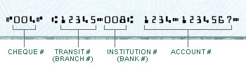 Cheque Information