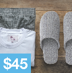Click here for more information about Pajamas and Slippers ($45)