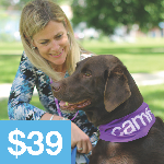 Click here for more information about Pet Therapy ($39)